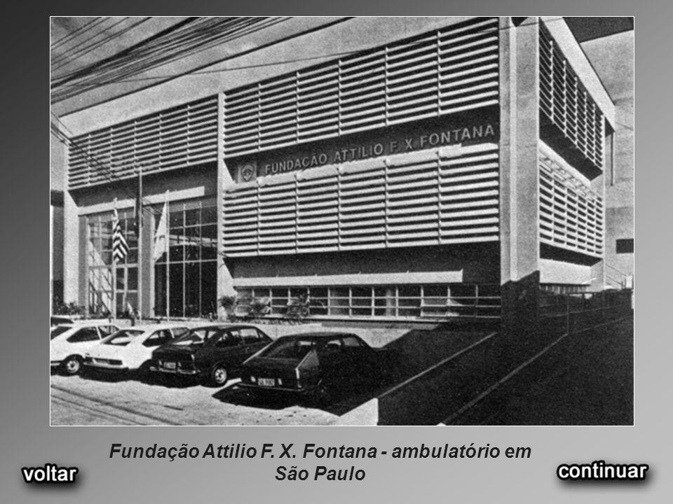 Fundação Attilio F. X. Fontana - ambulatório em São Paulo