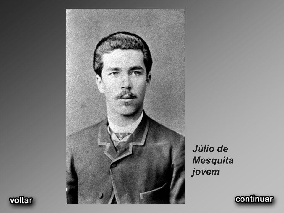 Júlio de Mesquita jovem