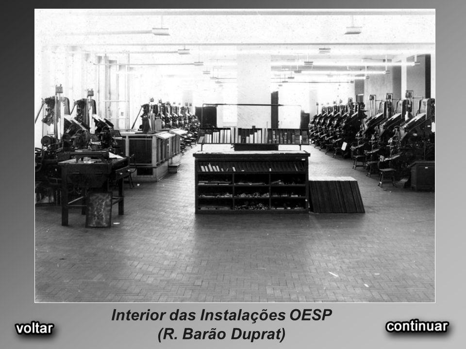Interior das Instalações OESP