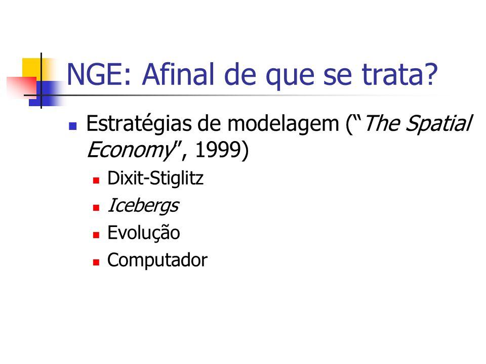NGE: Afinal de que se trata