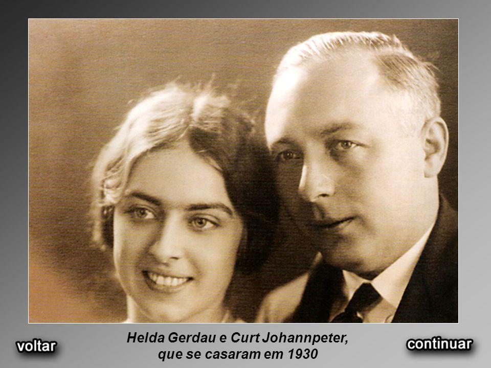 Helda Gerdau e Curt Johannpeter,