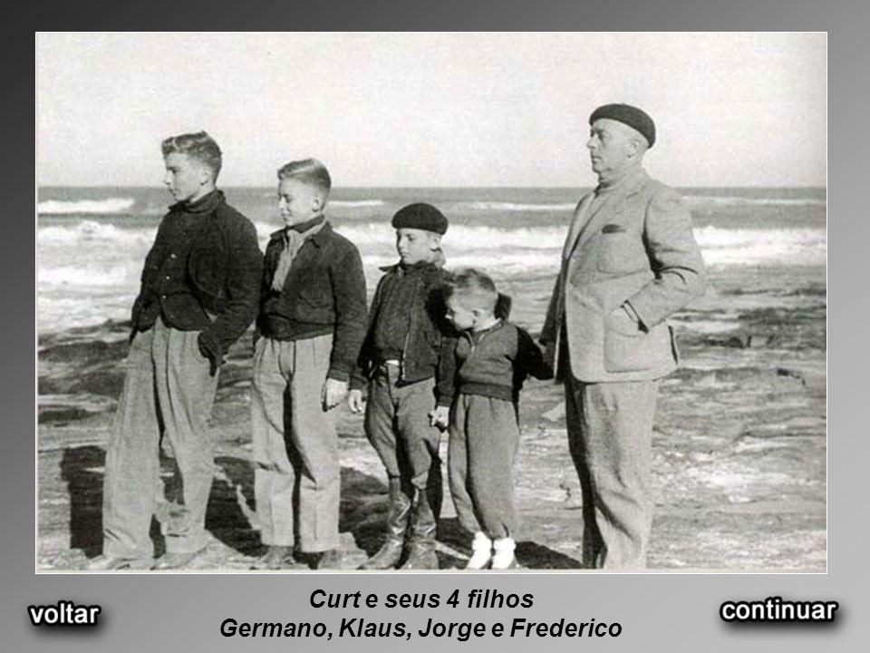 Germano, Klaus, Jorge e Frederico