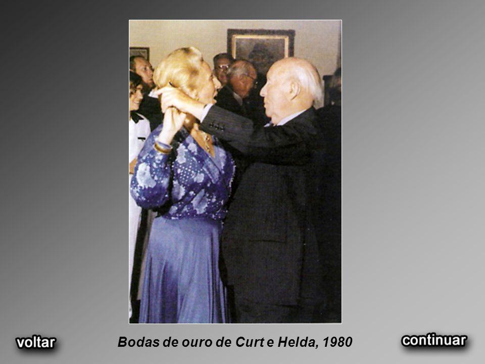 Bodas de ouro de Curt e Helda, 1980
