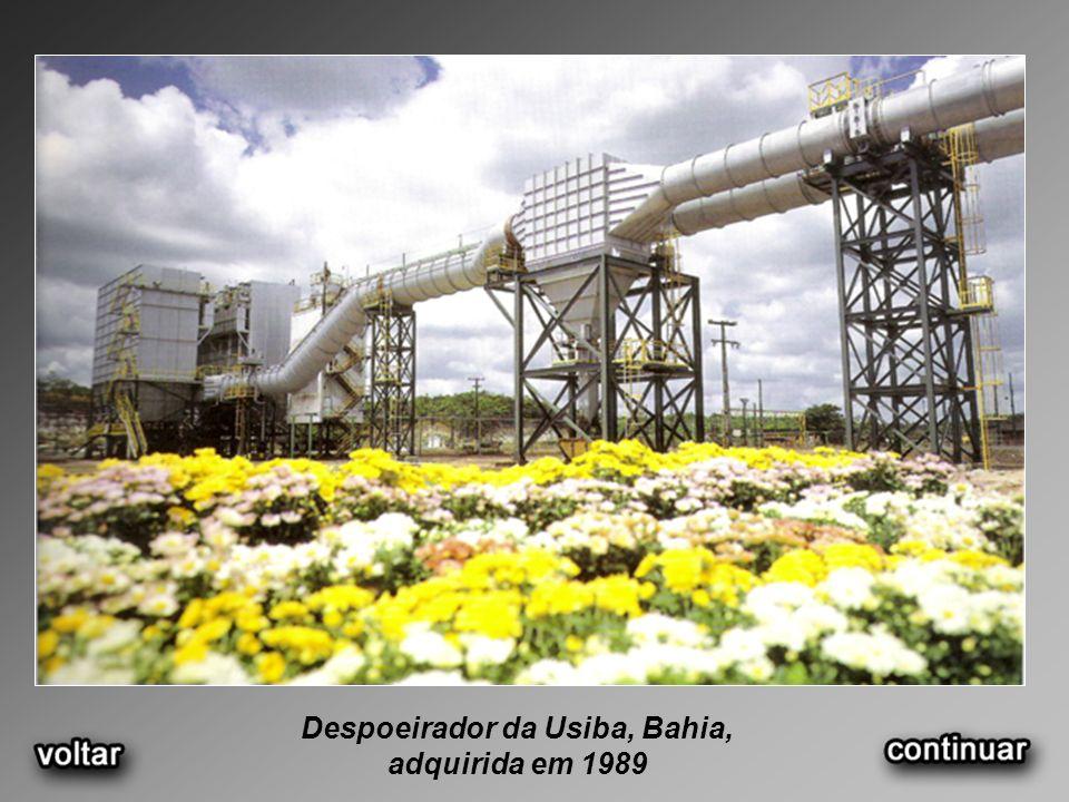 Despoeirador da Usiba, Bahia,