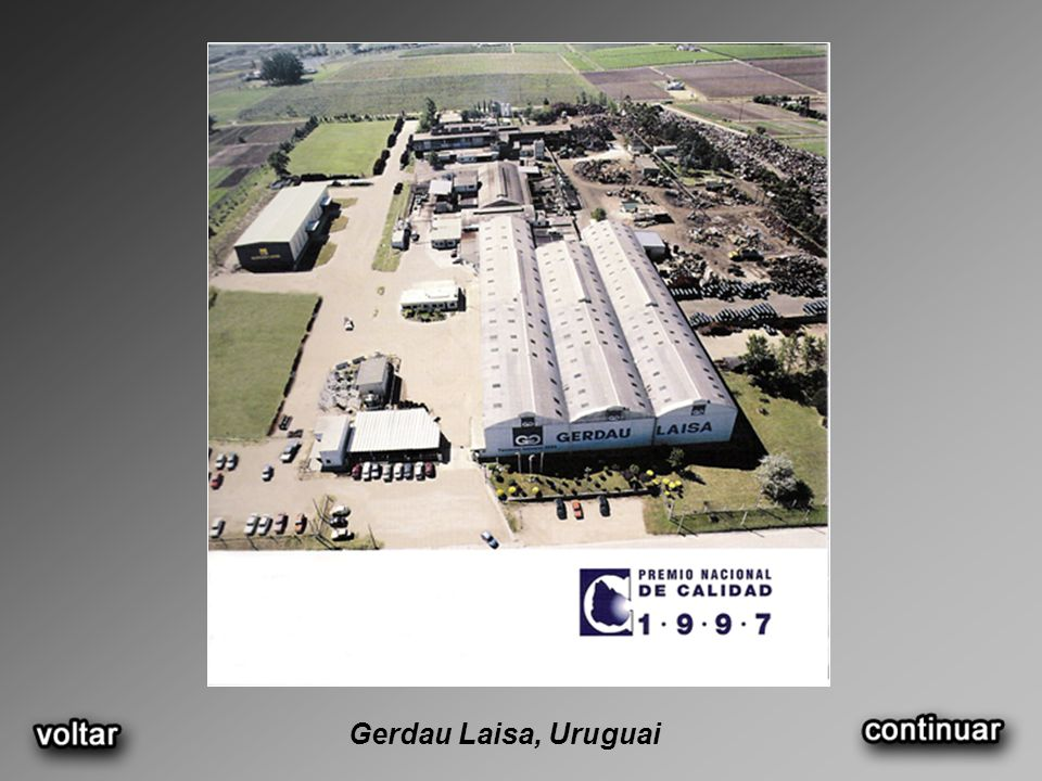 Gerdau Laisa, Uruguai