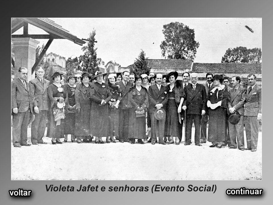 Violeta Jafet e senhoras (Evento Social)
