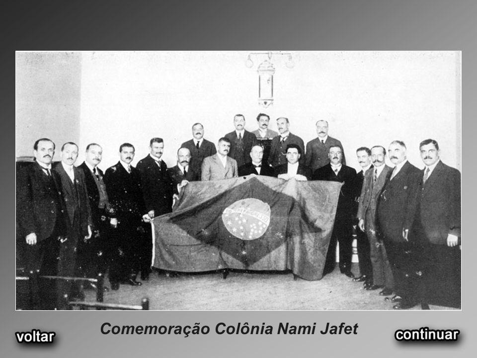 Comemoração Colônia Nami Jafet