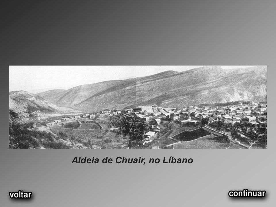 Aldeia de Chuair, no Líbano