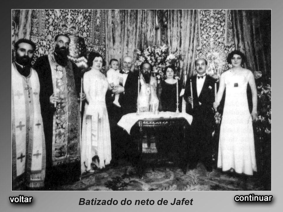 Batizado do neto de Jafet