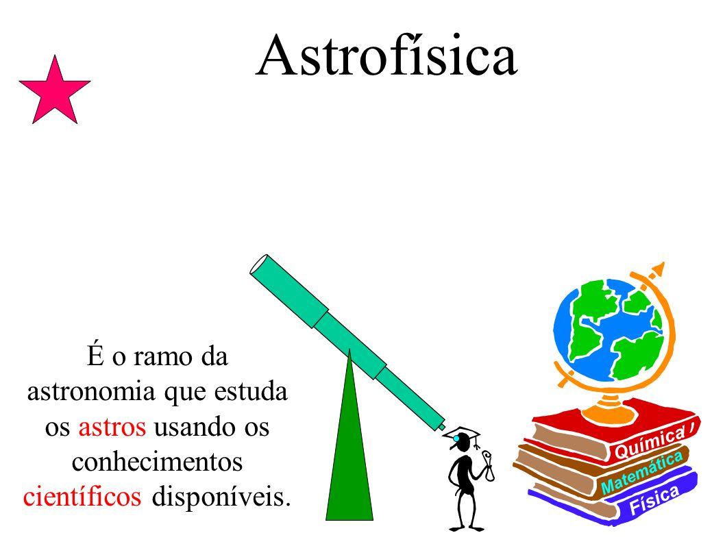 Astrofísica Física. Matemática. Química.