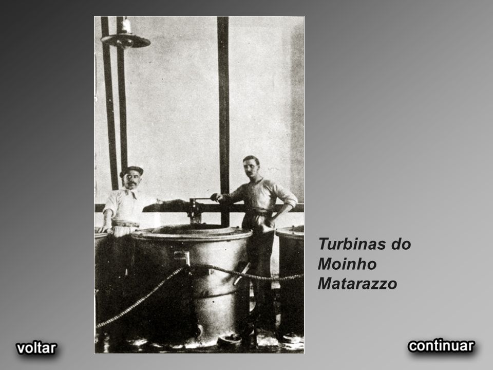 Turbinas do Moinho Matarazzo