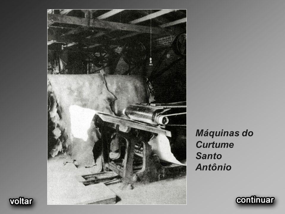 Máquinas do Curtume Santo Antônio