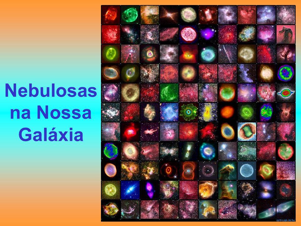 Nebulosas na Nossa Galáxia