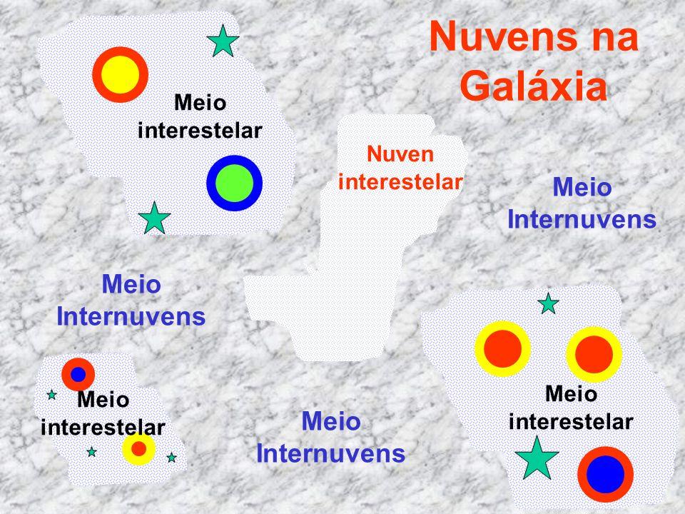 Nuvens na Galáxia Meio Internuvens Meio Internuvens Meio Internuvens