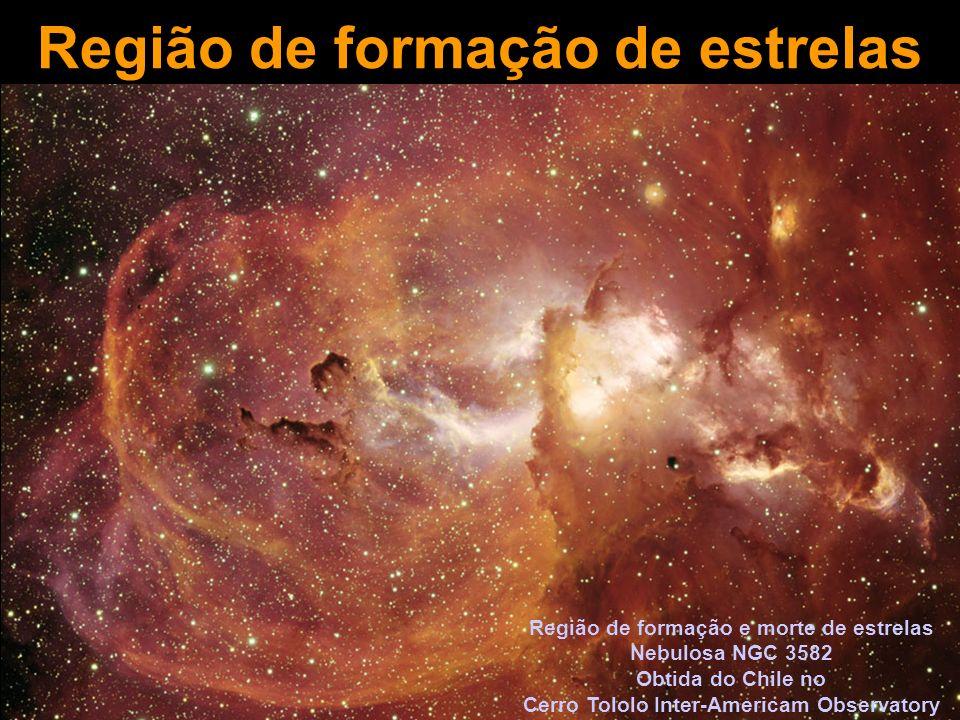 Região de formação de estrelas