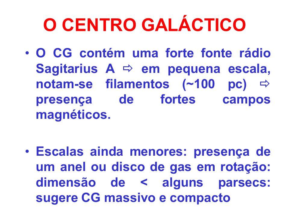 O CENTRO GALÁCTICO