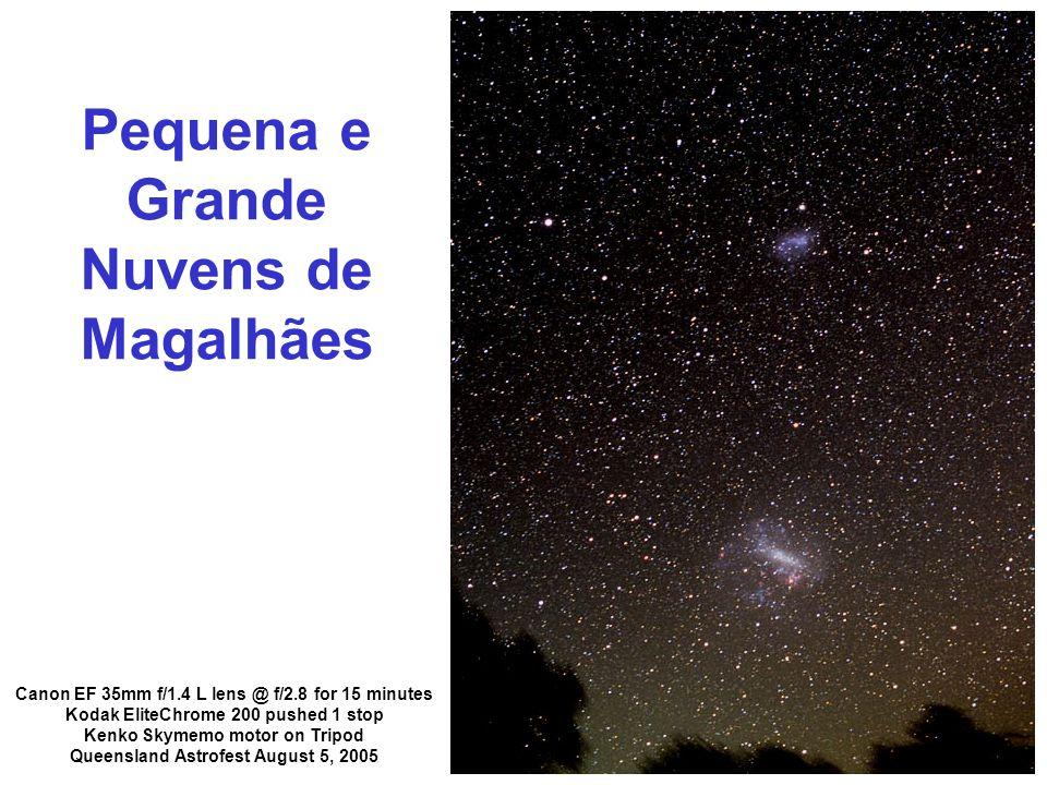 Pequena e Grande Nuvens de Magalhães