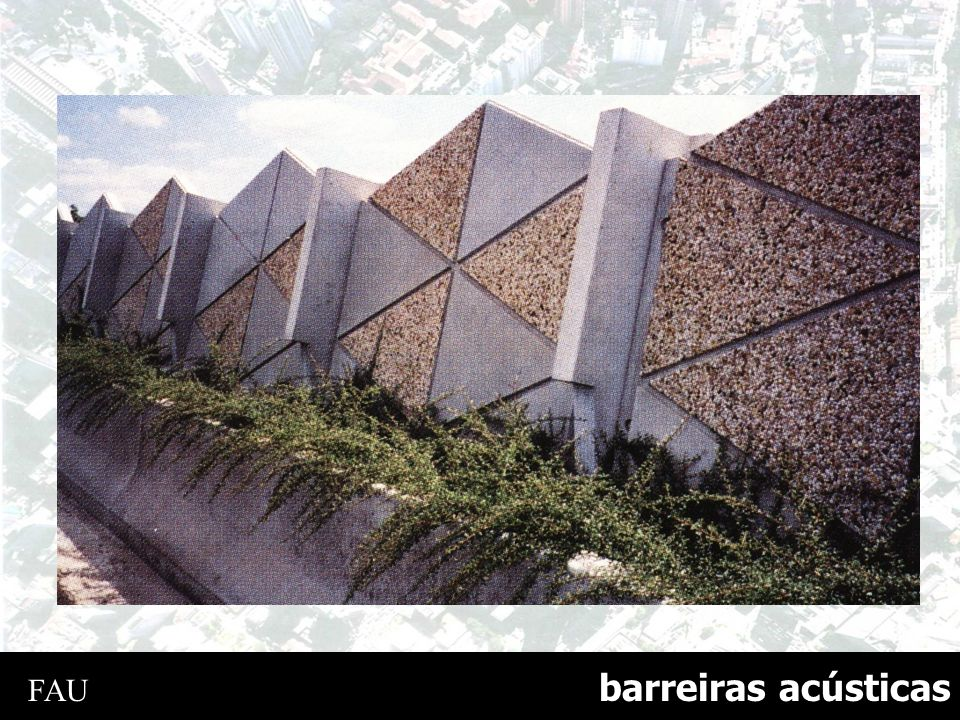 barreiras acústicas FAU