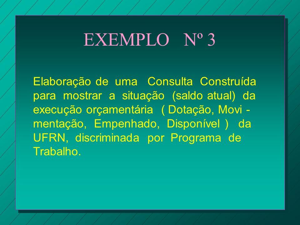 EXEMPLO Nº 3