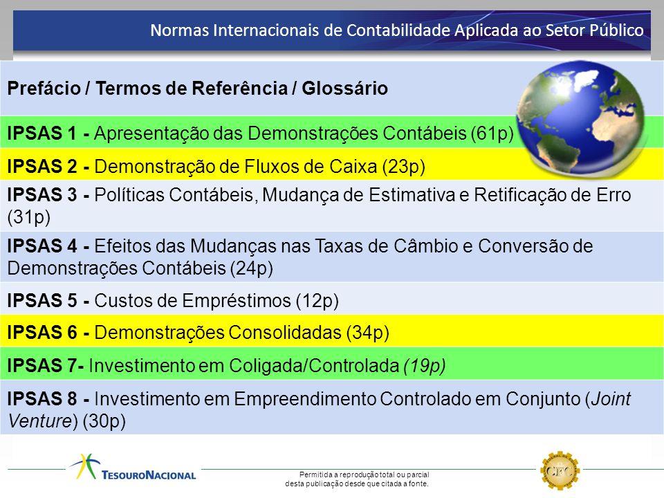 Normas Internacionais de Contabilidade Aplicada ao Setor Público