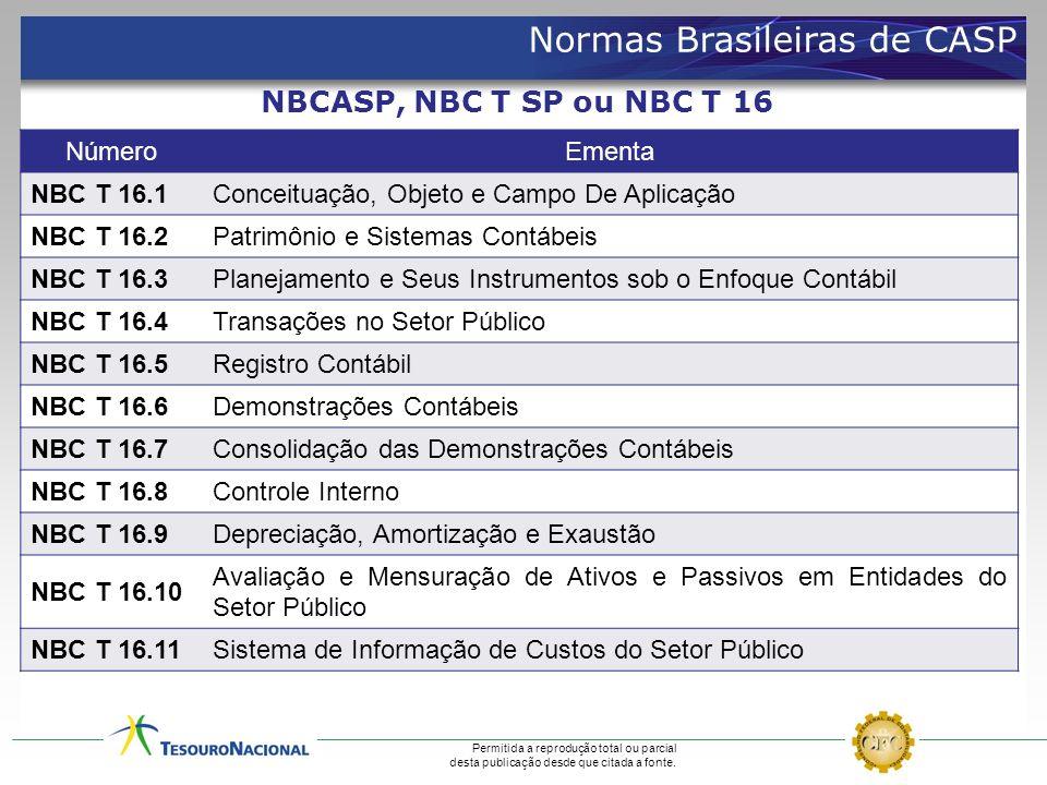 Normas Brasileiras de CASP