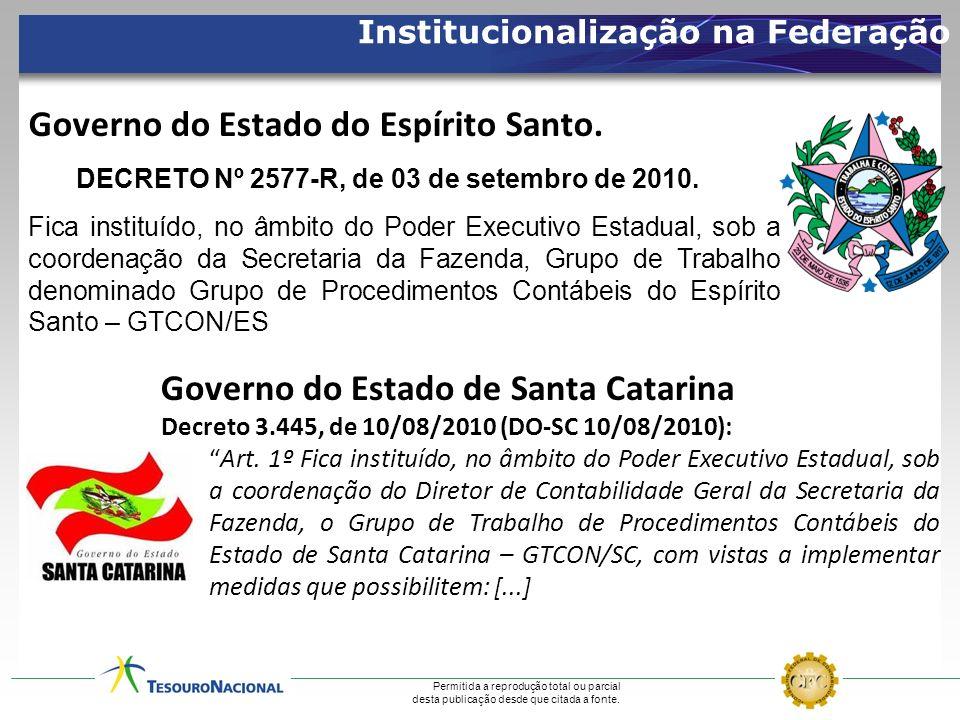 Governo do Estado do Espírito Santo.