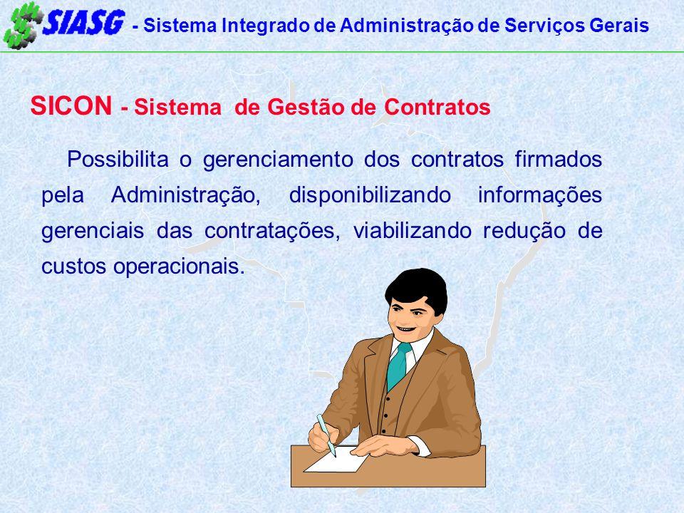 SICON - Sistema de Gestão de Contratos