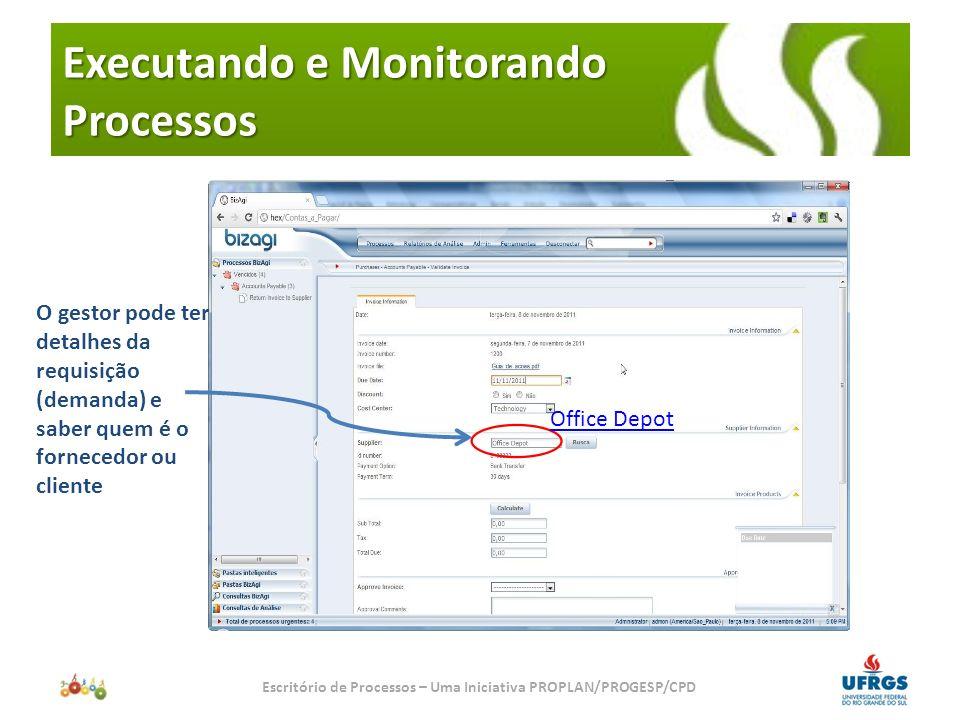 Executando e Monitorando Processos