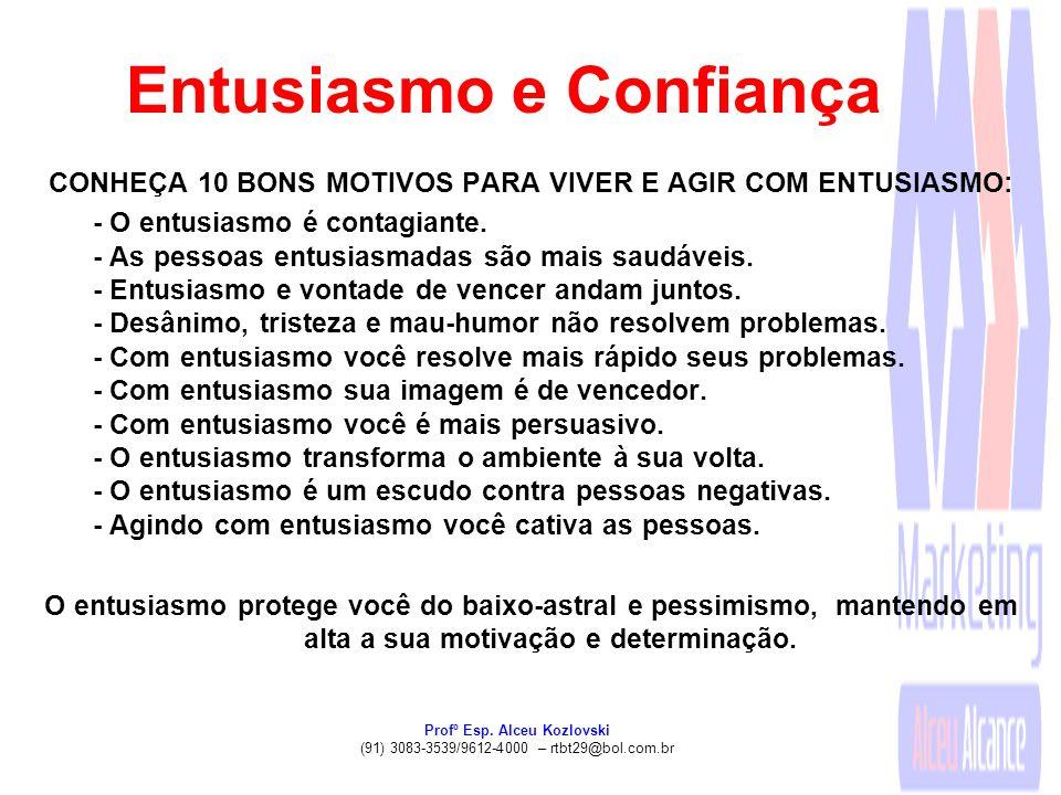 Entusiasmo e Confiança