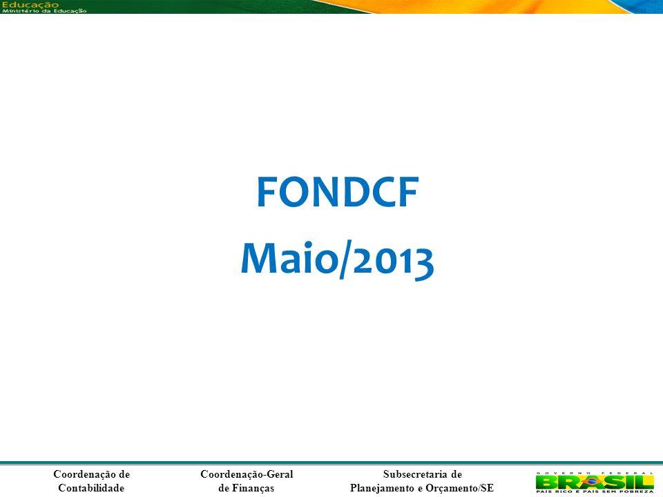 FONDCF Maio/2013