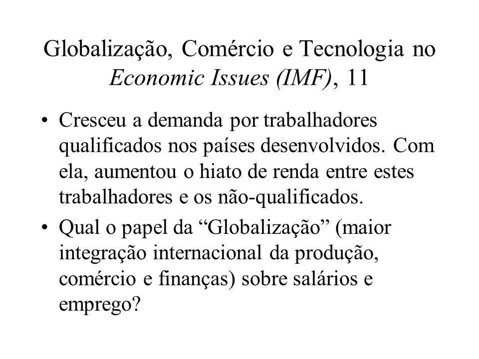Globalização, Comércio e Tecnologia no Economic Issues (IMF), 11