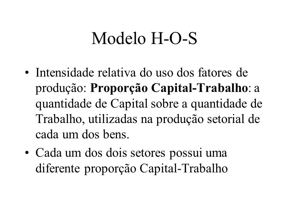 Modelo H-O-S