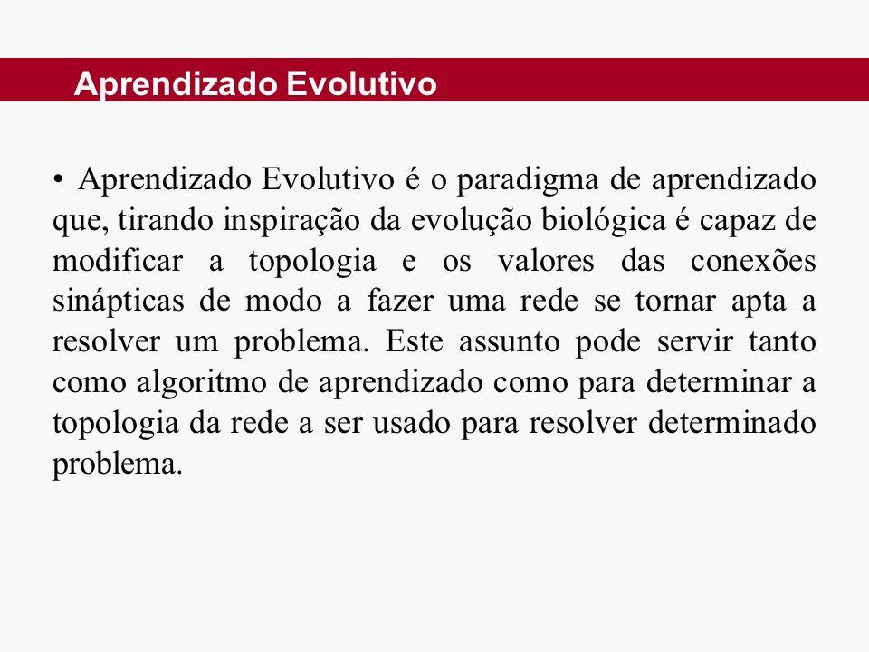 Aprendizado Evolutivo