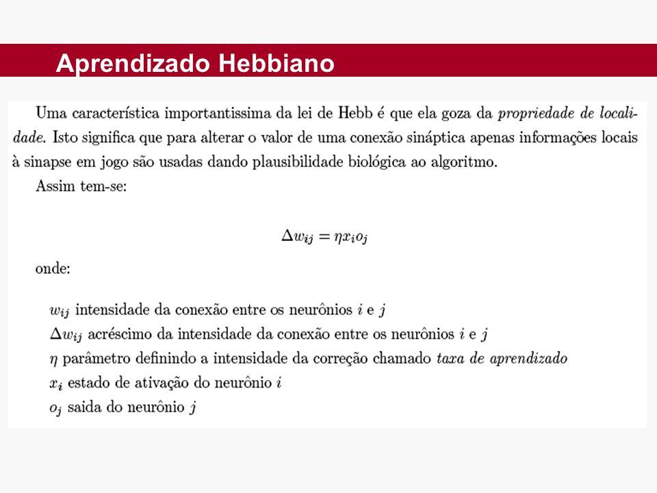 Aprendizado Hebbiano