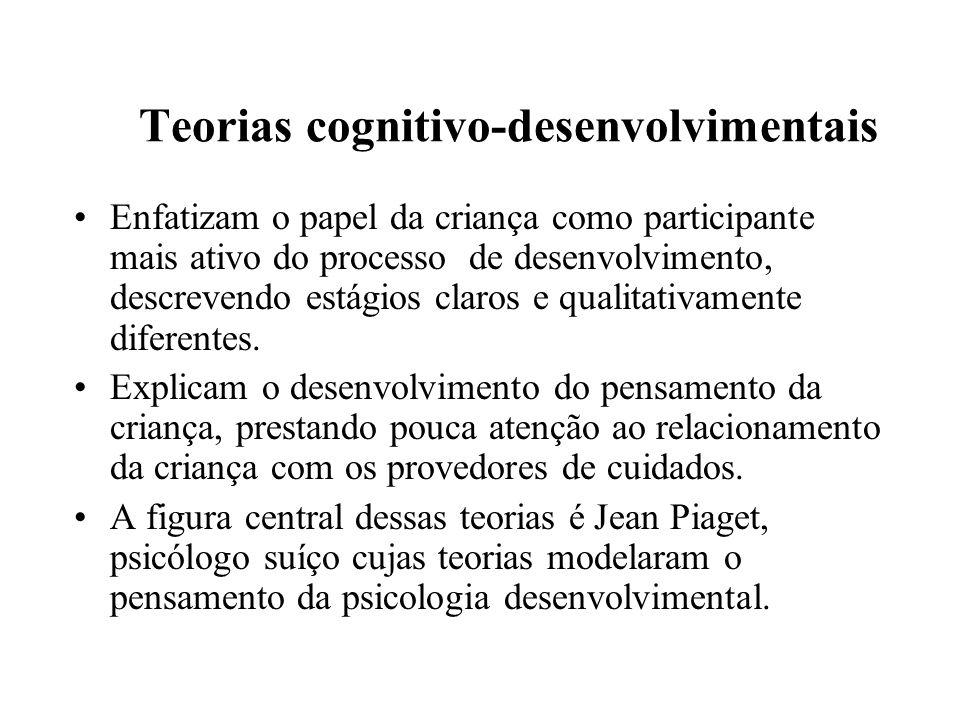 Teorias cognitivo-desenvolvimentais