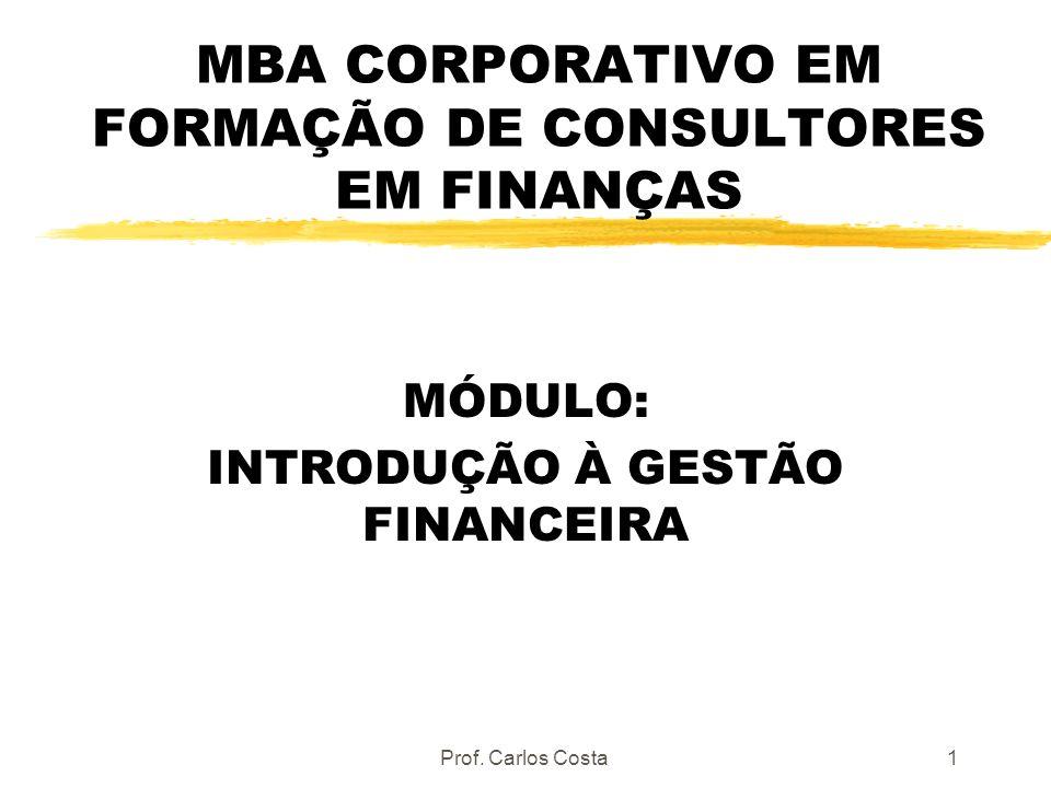 MBA CORPORATIVO EM FORMAÇÃO DE CONSULTORES EM FINANÇAS