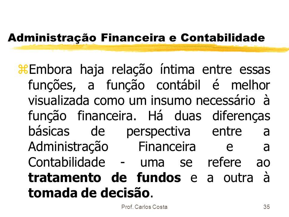 Administração Financeira e Contabilidade