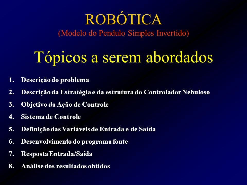 ROBÓTICA (Modelo do Pendulo Simples Invertido)