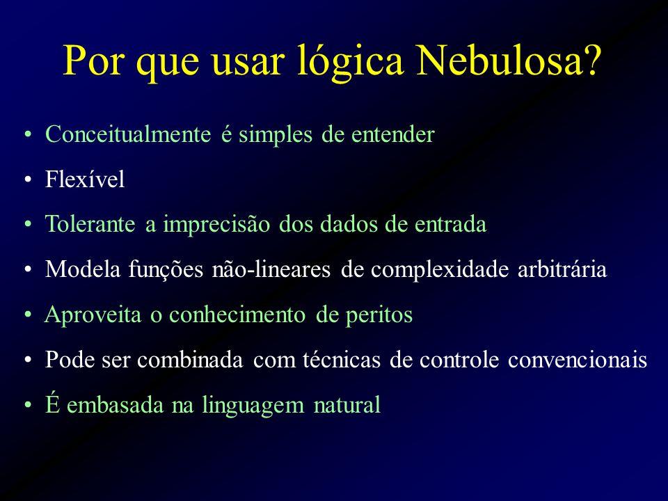 Por que usar lógica Nebulosa