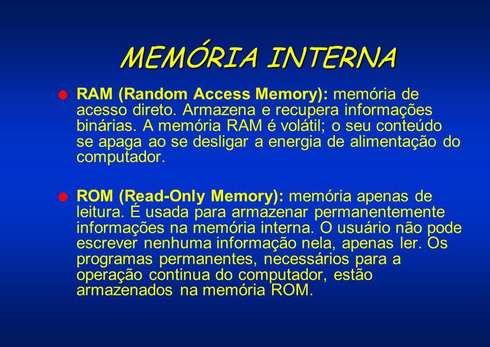 MEMÓRIA INTERNA