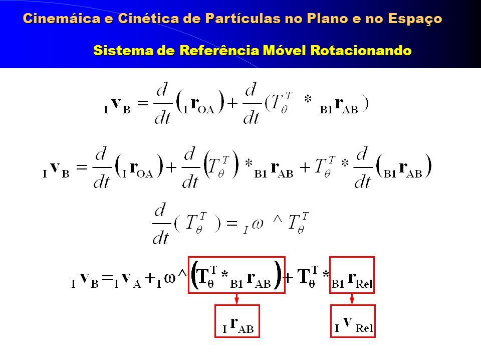 Cinemáica e Cinética de Partículas no Plano e no Espaço