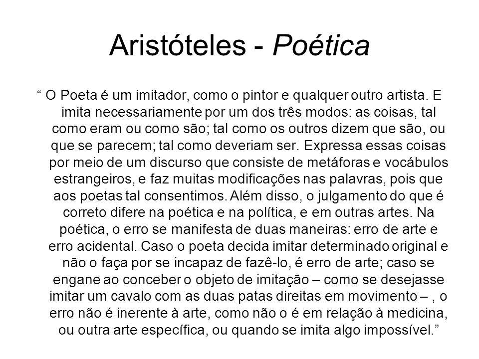 Aristóteles - Poética