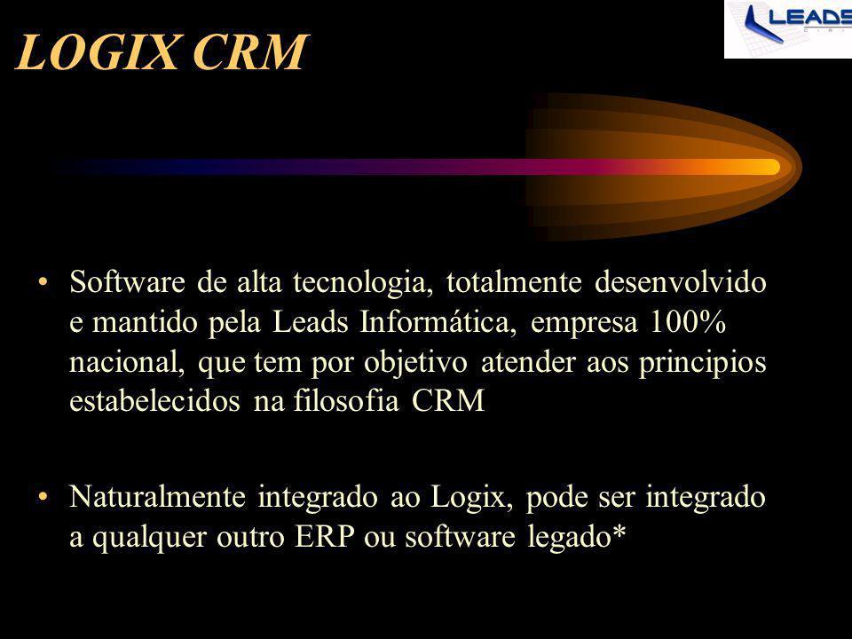 LOGIX CRM E o que é o LOGIX - CRM.
