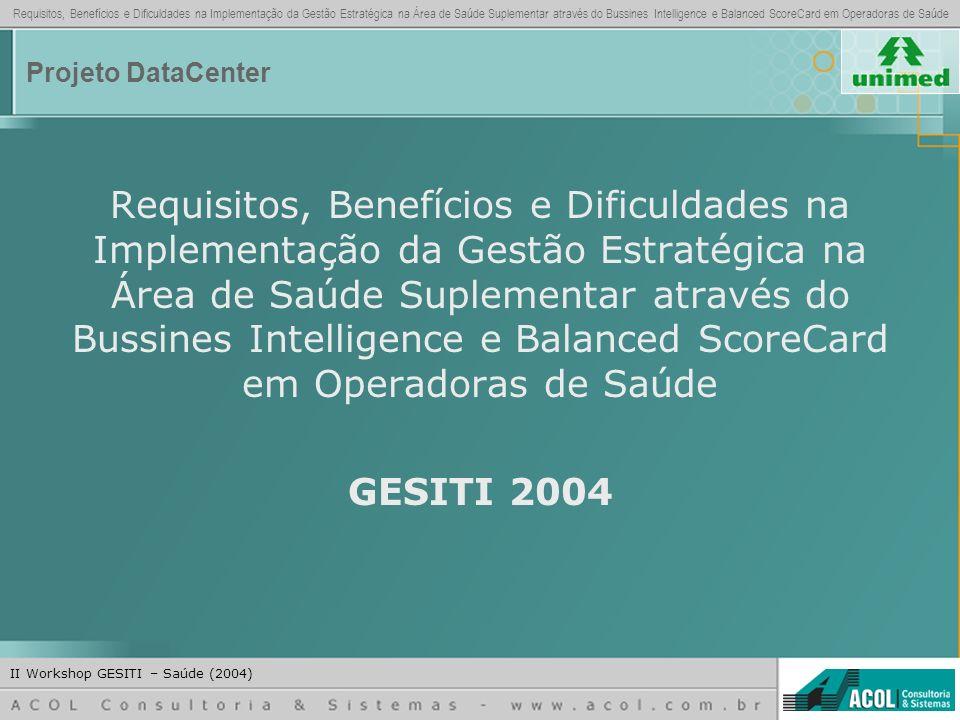 Projeto DataCenter