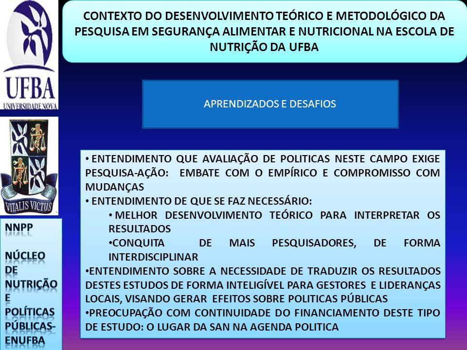 APRENDIZADOS E DESAFIOS