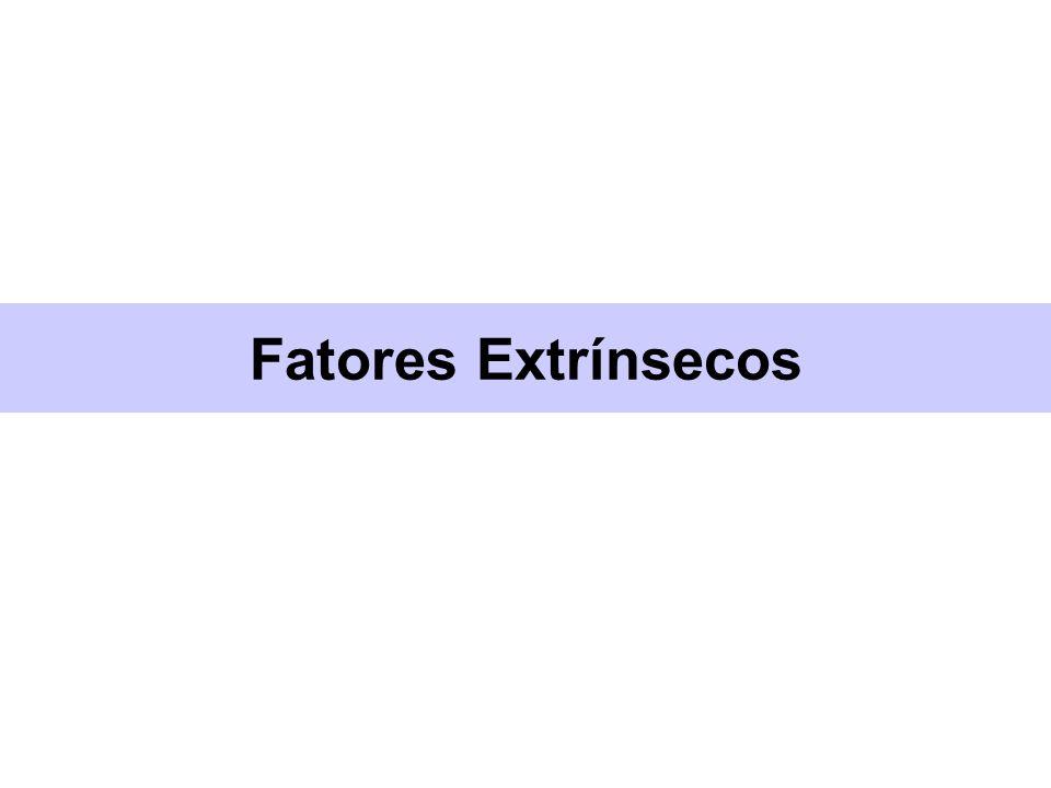 Fatores Extrínsecos