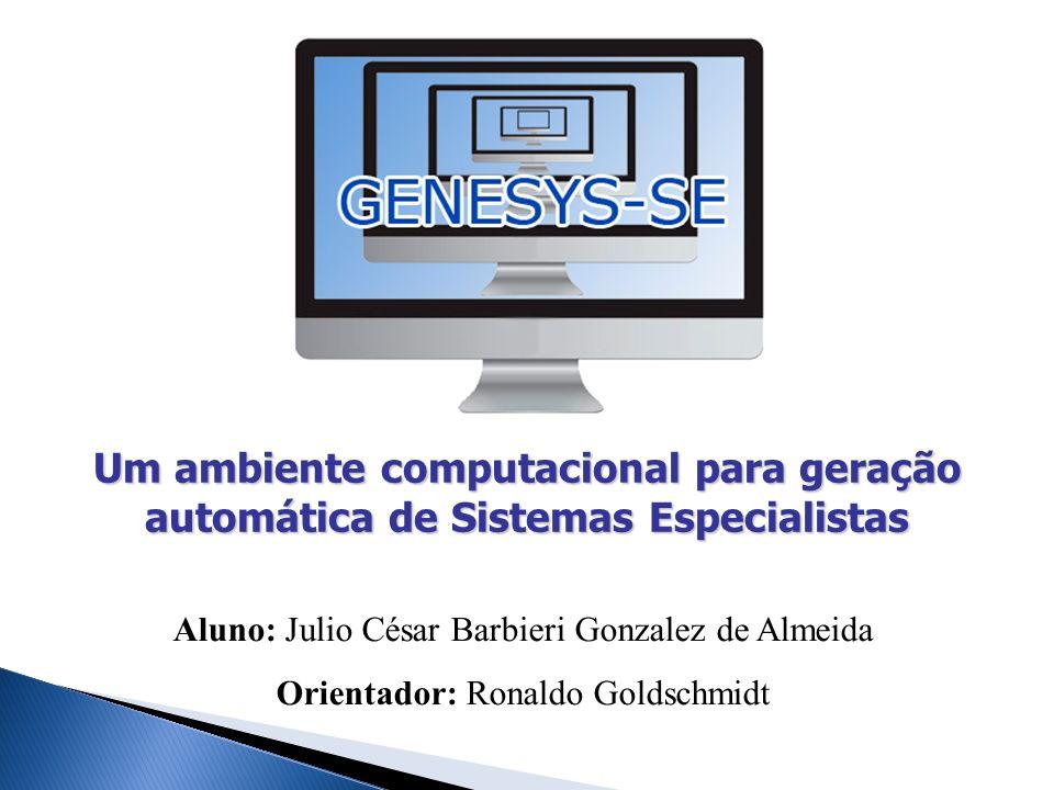 Um ambiente computacional para geração automática de Sistemas Especialistas