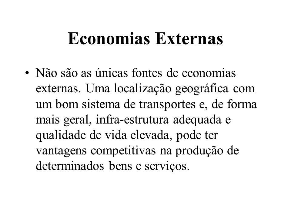 Economias Externas