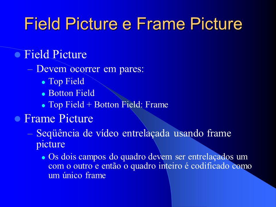 Field Picture e Frame Picture