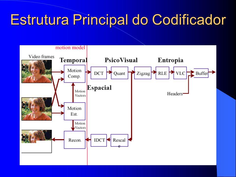 Estrutura Principal do Codificador